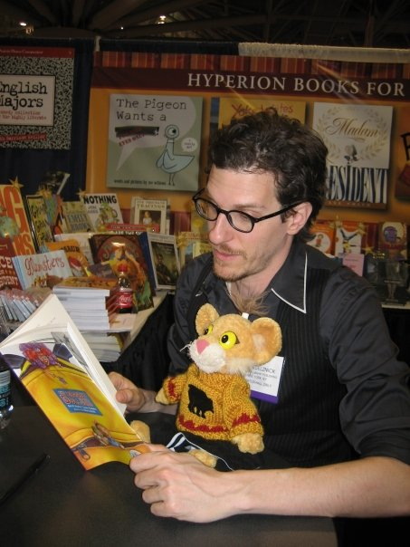Brian Selznick and Leona